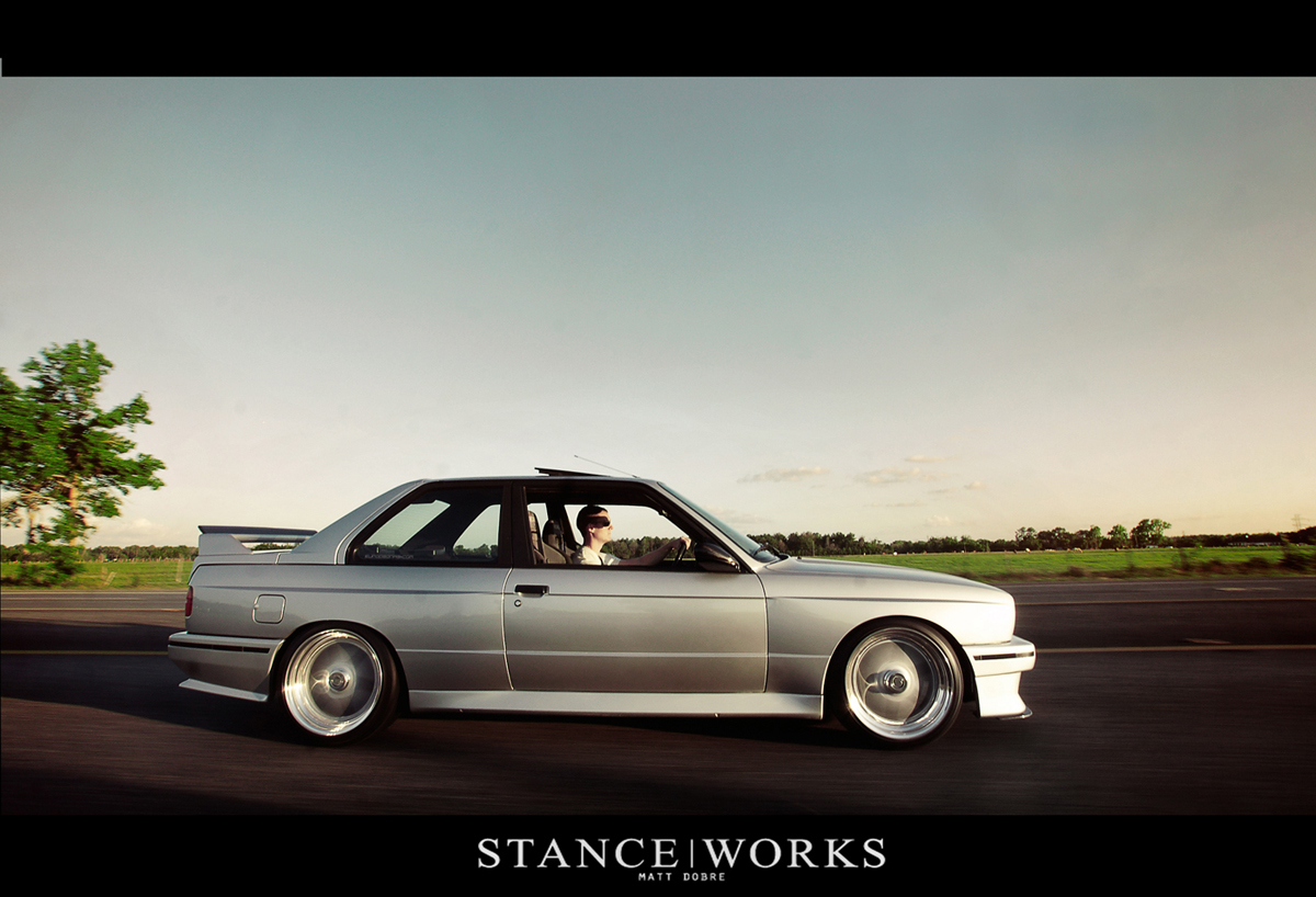 Clean Silver Bmw E30 M3 Dakos3