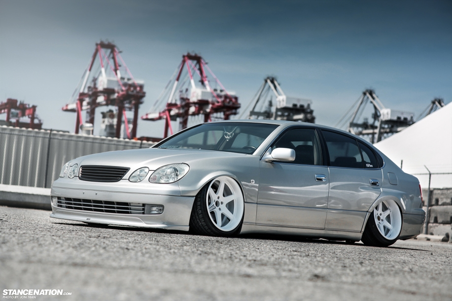Stanced dumped bagged lexus gs300 12 dakos3 related sciox Images