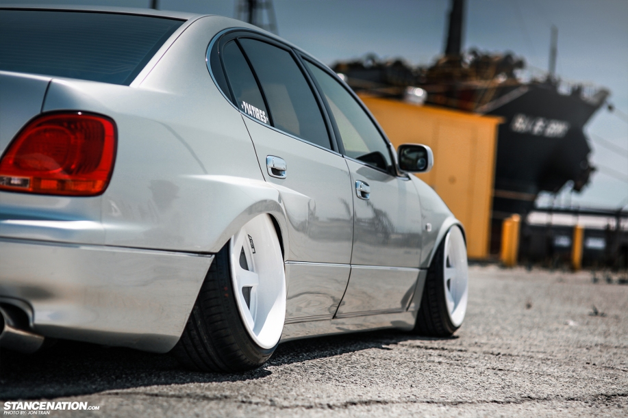 Stanced dumped bagged lexus gs300 15 dakos3 related sciox Images