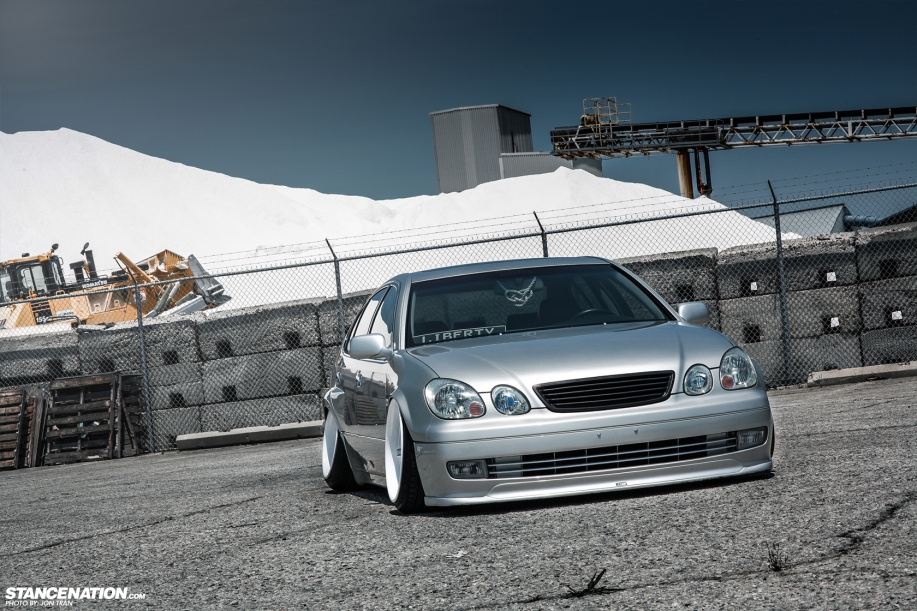 Stanced dumped bagged lexus gs300 16 dakos3 related sciox Images