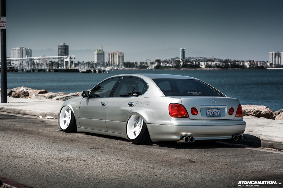 Stanced dumped bagged lexus gs300 5 dakos3 related sciox Images