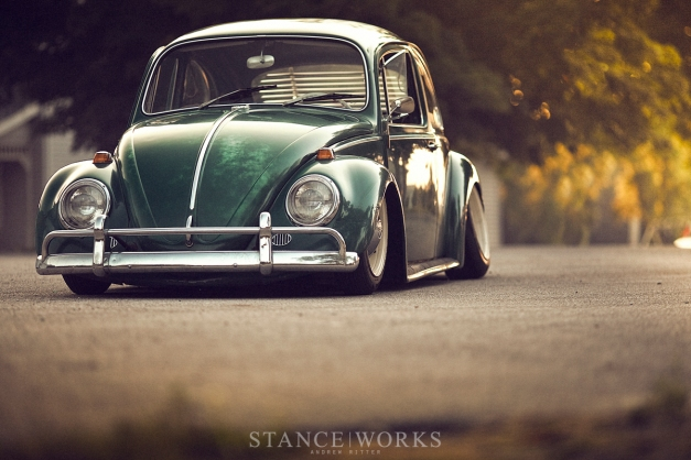 slammed-static-aircooled-beetle-green